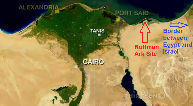 Tanis Egypt Map.Tanis The Ark